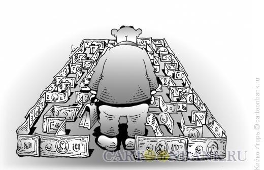 Карикатура: Лабиринт, Кийко Игорь