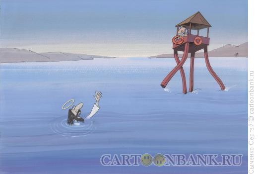 Карикатура: Чудеса, Сыченко Сергей