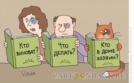 Карикатура: Вопросы, Иванов Владимир