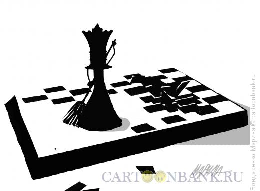 Карикатура: Чистильщик, Бондаренко Марина