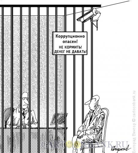 Карикатура: Всё под контролем, Богорад Виктор