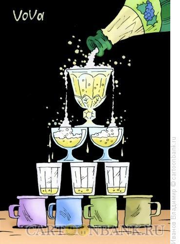 Карикатура: Пирамида, Иванов Владимир