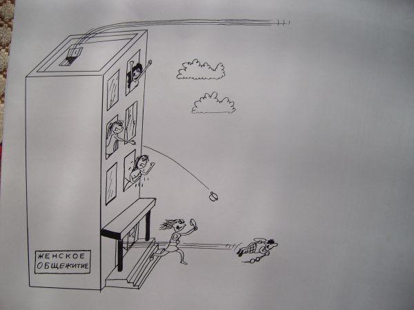 Карикатура: Карлсон, Петров Александр