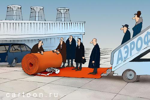 Карикатура: Подковерные игры, Зудин Александр