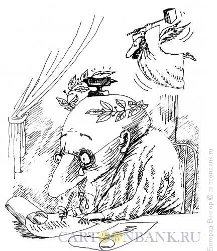 Карикатура: Классик, Богорад Виктор
