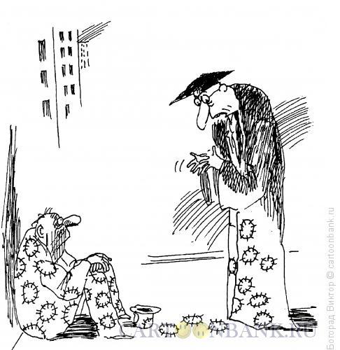 Карикатура: Зараза, Богорад Виктор