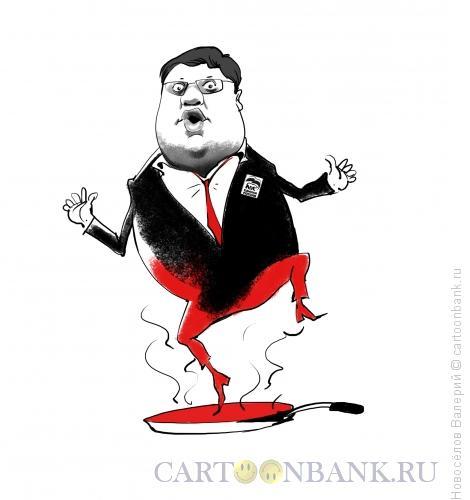 Карикатура: Исаев Андрей депутат ЕДР, Новосёлов Валерий