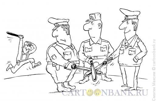 Карикатура: Клятва полицейских, Смагин Максим