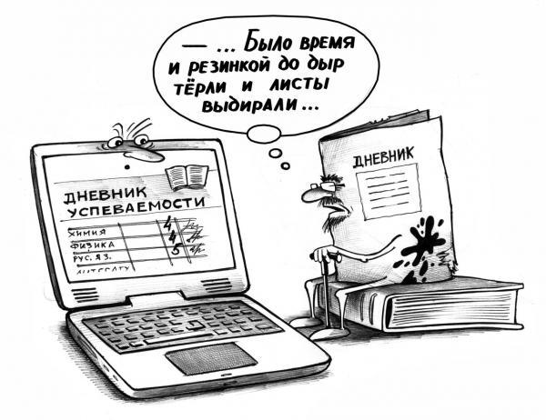 Карикатура: Иновации, Сергей Корсун