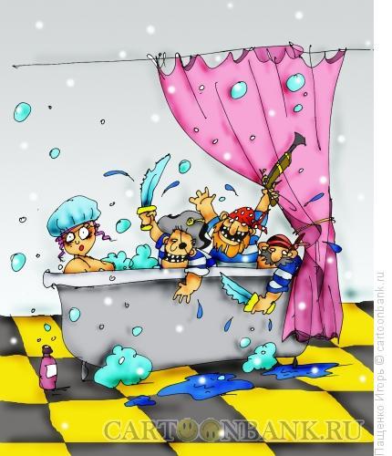Карикатура: пираты, Пащенко Игорь