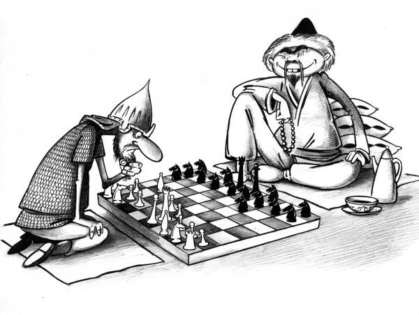 Карикатура: Лошадью ходи, Сергей Корсун