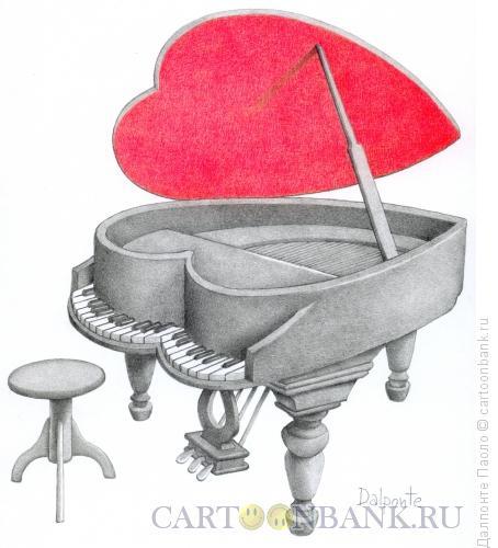 Карикатура: любовная игра, Далпонте Паоло