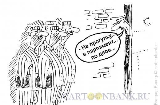 Карикатура: Распорядок дня, Богорад Виктор