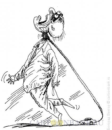 Карикатура: Удавка, Богорад Виктор