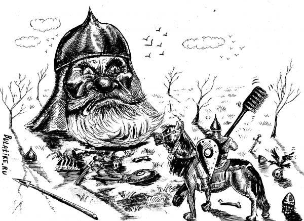 Карикатура, Булат