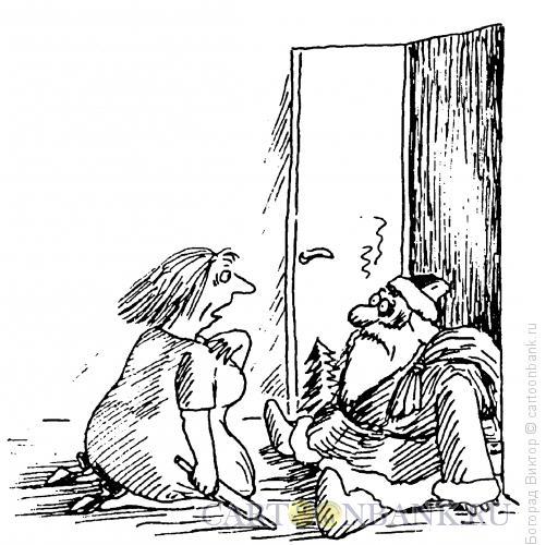 Карикатура: Перепутала, Богорад Виктор