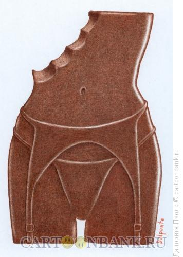 Карикатура: Шоколадка, Далпонте Паоло