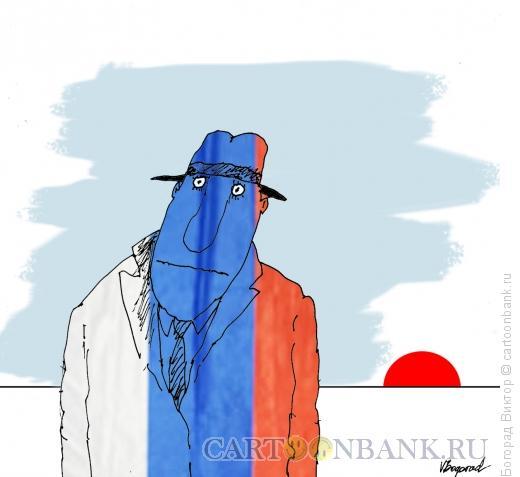 Карикатура: Утро красит нежным светом, Богорад Виктор