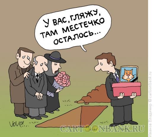 Карикатура: Пристроить кошку, Иванов Владимир