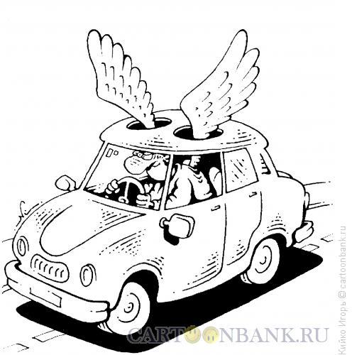 Карикатура: Сам себе ангел, Кийко Игорь