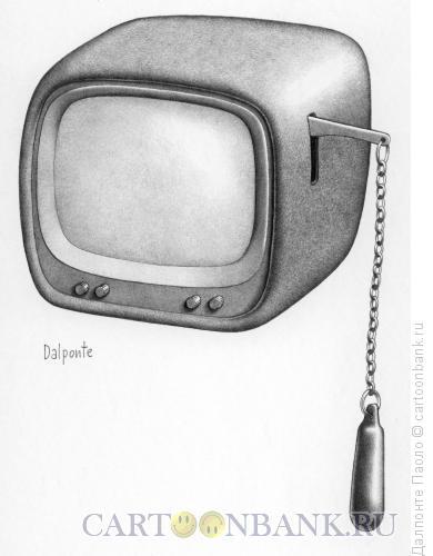 Карикатура: Сливной бачок, Далпонте Паоло