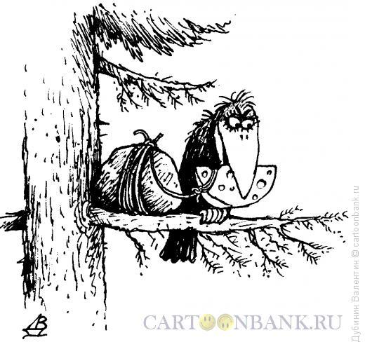 Карикатура: Месть, Дубинин Валентин
