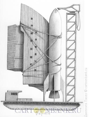 Карикатура: Ноев ковчег, Далпонте Паоло