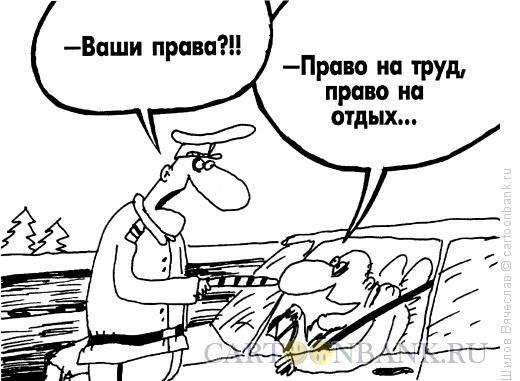 Карикатура: Права человека, Шилов Вячеслав