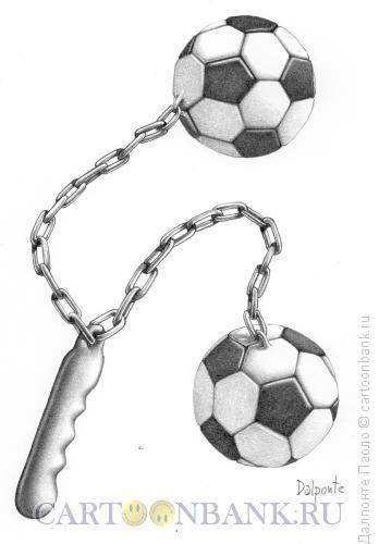 Карикатура: Футбольная булава, Далпонте Паоло