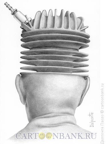 Карикатура: Байкер, Далпонте Паоло