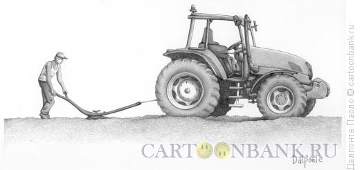 Карикатура: Сельское хозяйство, Далпонте Паоло