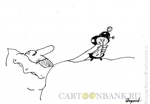 Карикатура: Смерть будильникам!, Богорад Виктор