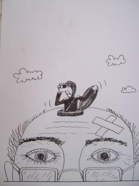 Карикатура: Чувак, Петров Александр