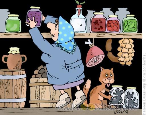 Карикатура: Заготовки, Иванов Владимир