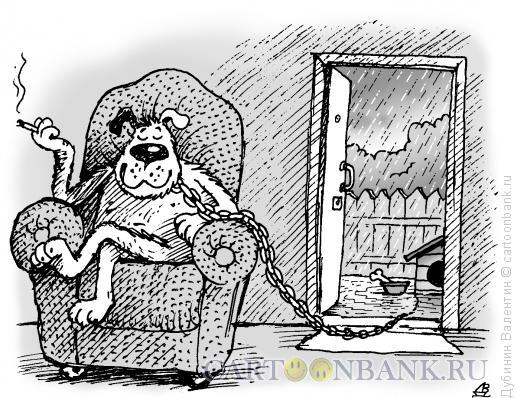Карикатура: Иллюзия счастья, Дубинин Валентин