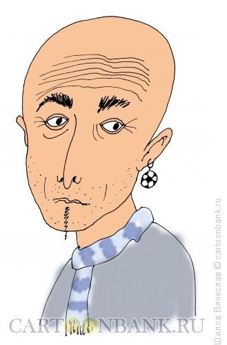 Карикатура: Лучано Спаллетти, футбольный тренер, Шилов Вячеслав