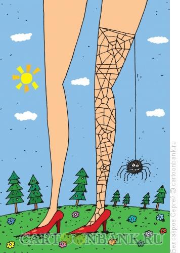Карикатура: Паук, Белозёров Сергей