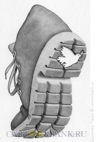 Карикатура: символ мира, Далпонте Паоло