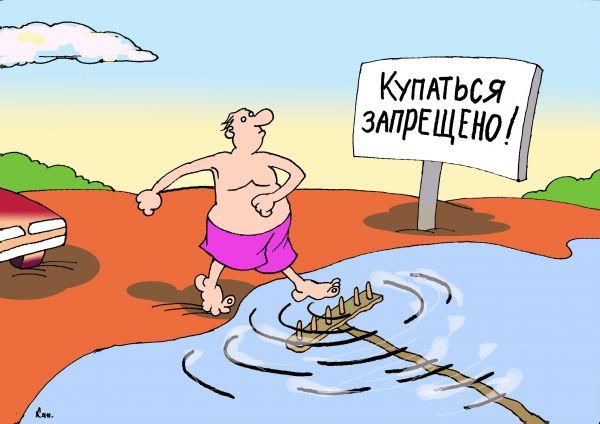 Карикатура: Грабли, Николай Кинчаров