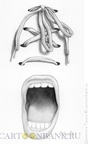 Карикатура: крик, Далпонте Паоло