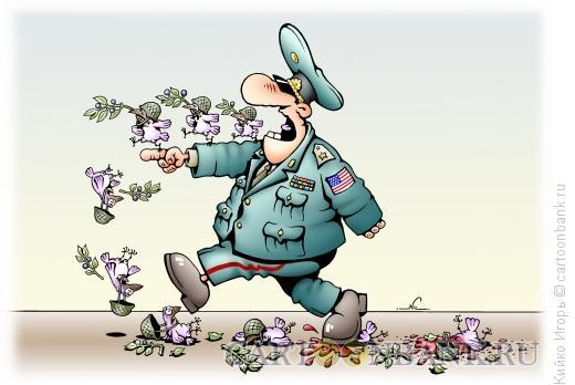Карикатура: Миротворец, Кийко Игорь