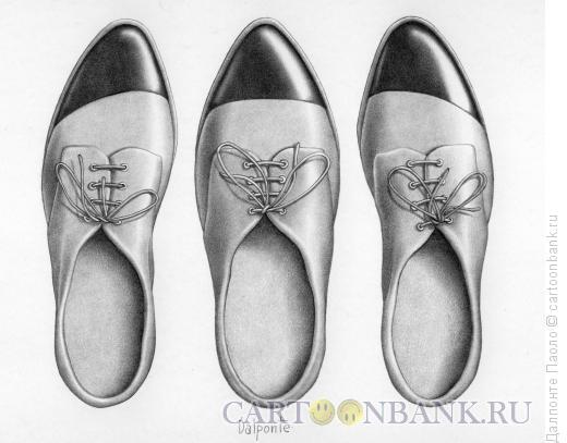 Карикатура: Третья нога, Далпонте Паоло