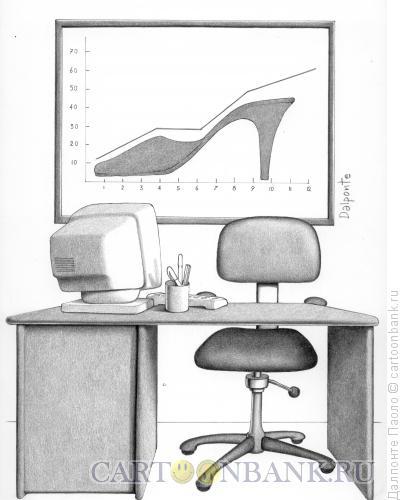 Карикатура: бизнесвумен, Далпонте Паоло