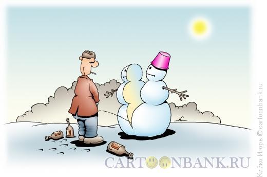 Карикатура: Весна, Кийко Игорь
