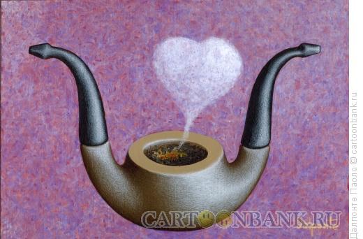 Карикатура: двойная трубка, Далпонте Паоло