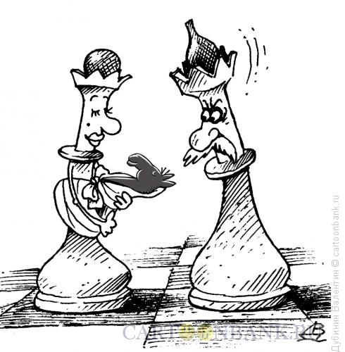 Карикатура: Измена с конём, Дубинин Валентин