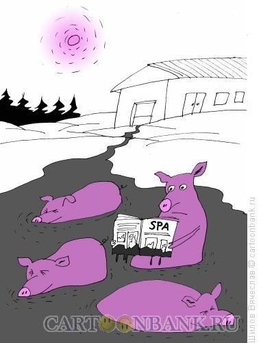 Карикатура: Спа, Шилов Вячеслав