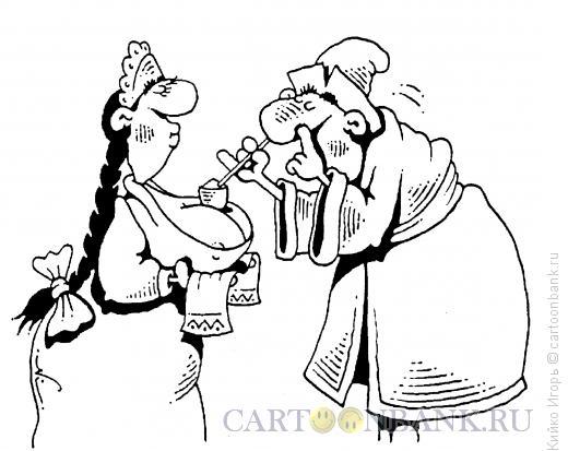 Карикатура: Соль или не соль?, Кийко Игорь