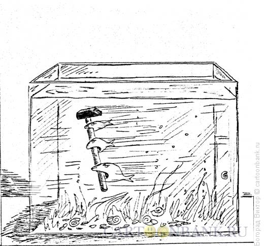 Карикатура: Попытка к бегству (вариант 23163), Богорад Виктор