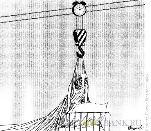 Карикатура: Подъем, Богорад Виктор
